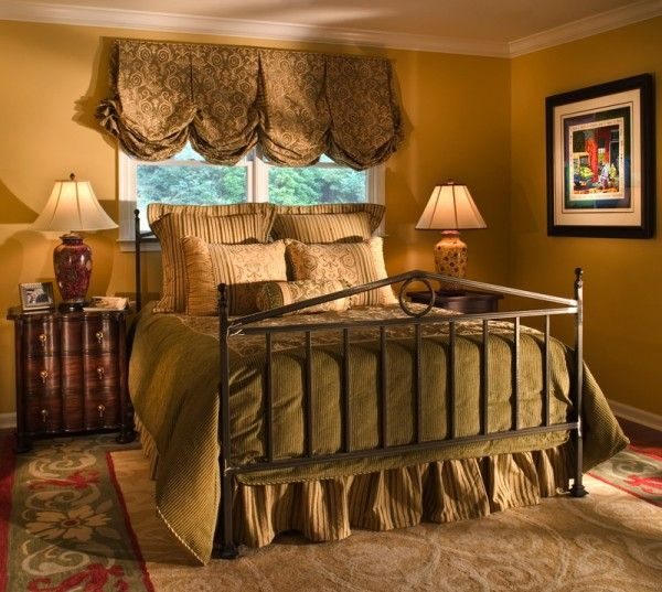 Classy Master Bedroom Ideas In Romantic Theme Picture