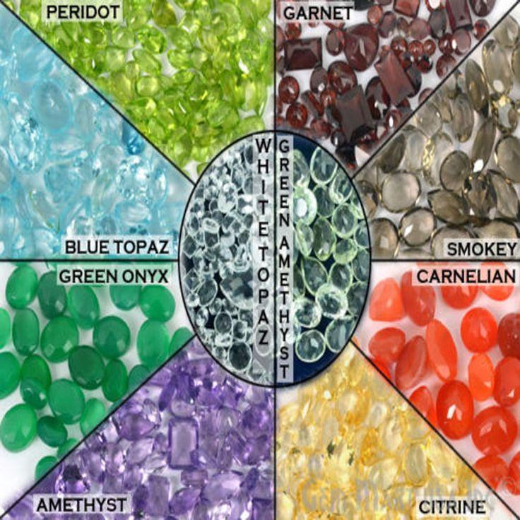 Choose Your Carat Natural Loose Faceted Gemstone Lot, All Shape Sizes Mixed Gems #GemMartUSA