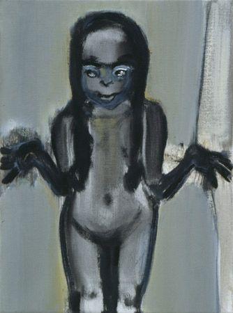 Marlene Dumas. Dumas deals with the big subjects: birth, death, sex, power, identity.