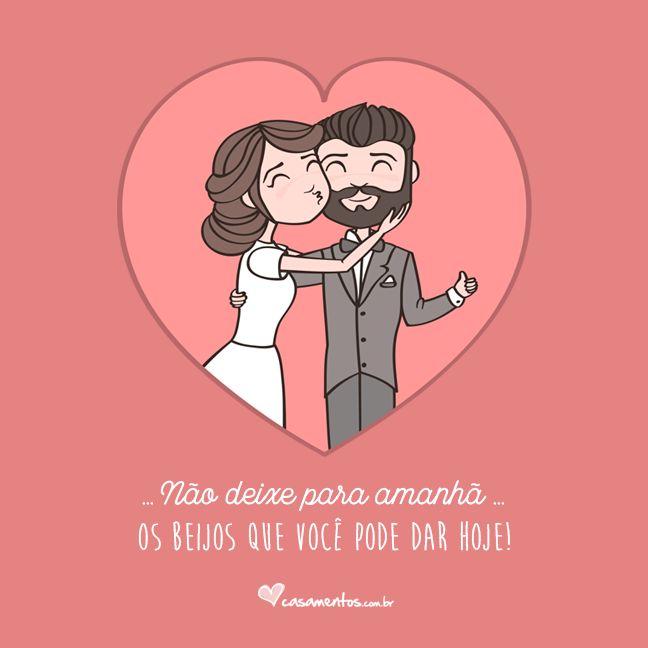 Adoro seus beijos e estou sempre esperando o próximo!