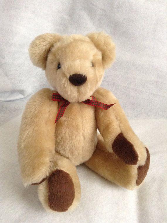 Traditional Teddy Bear by SewingSunbeams on Etsy