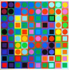 Victor Vasarely: Colour, Visual Arts, Opart, Color, Artist, Op Art, Victor Vasarely