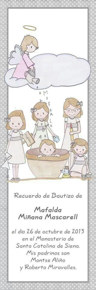 Mafalda, tiene 4 hermanas María,  Marta, Macarena y Marcela, que no paran de cuidar y mimar a la princesa de la casa!