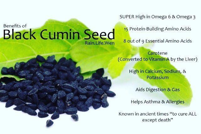 """Black Cumin Seeds (a.k.a., """"Black Seeds""""), one of the most potent, healing superfoods known to man/woman"""
