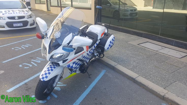 https://flic.kr/p/Z8W1wQ | Western Australia Police | Yamaha FJR 1300 TE732 Traffic Branch Unit motorcycle. Perth CBD, WA