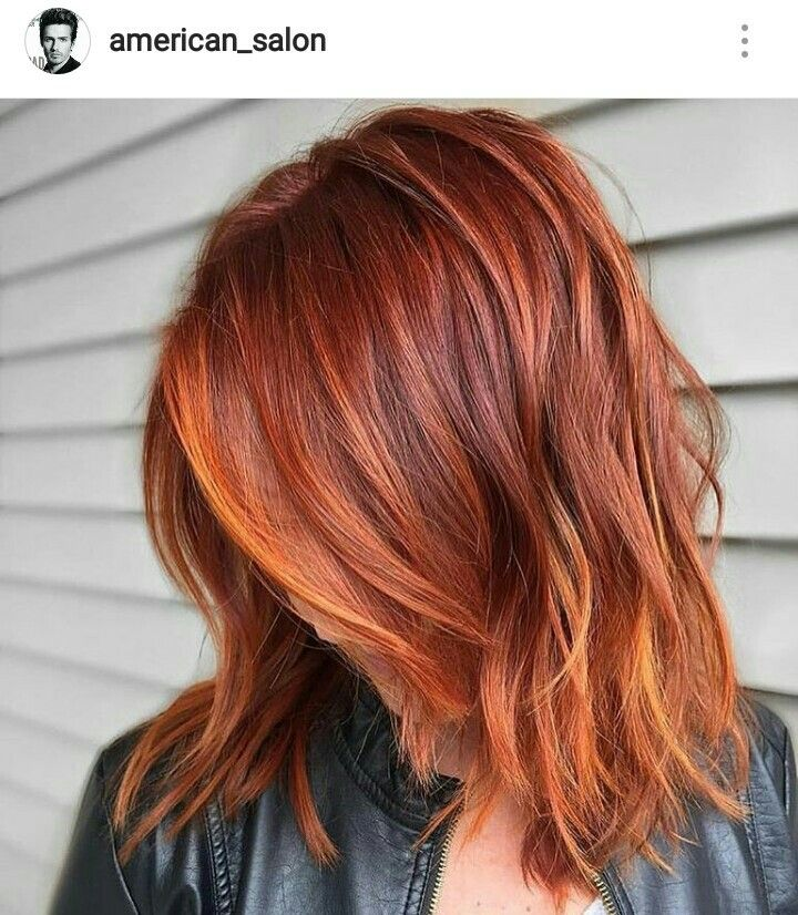 Auburn hair color ❤