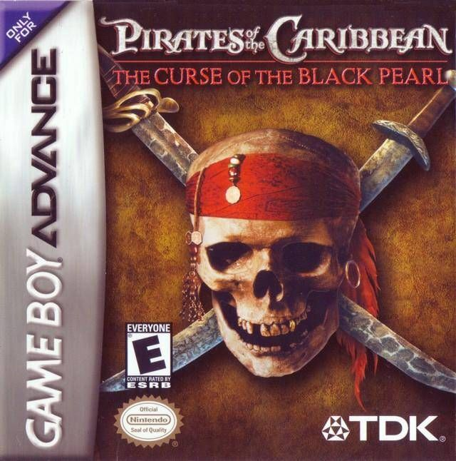 Pirates of the Caribbean Nintendo Game Boy Advance GBA