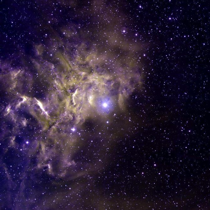 Płonąca gwiazda