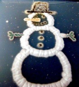 Fungal snowman.   Hat, Eyes, Mouth, Buttons: Aspergillus niger;  Arms: Aspergillus nidulans;  Nose: Aspergillus terreus with Penicillium marneffei;  Body: Neosartorya fischeri.