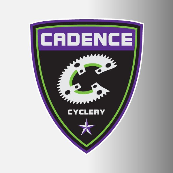"Cadence Cycling 3"" Logo Decal"