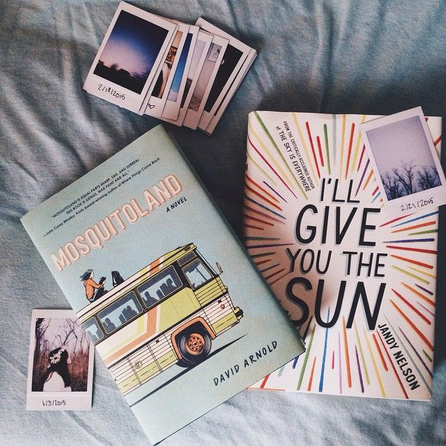 I have another book haul!! Mosquitoland by David Arnold and I'll Give You the Sun by Jandy Nelson. IGYTS has been out for a while and I know a lot of you have read and loved it, but Mosquitoland just came out last week. I'm curious, has anyone read it yet? I've heard great things from people who got ARCs✨