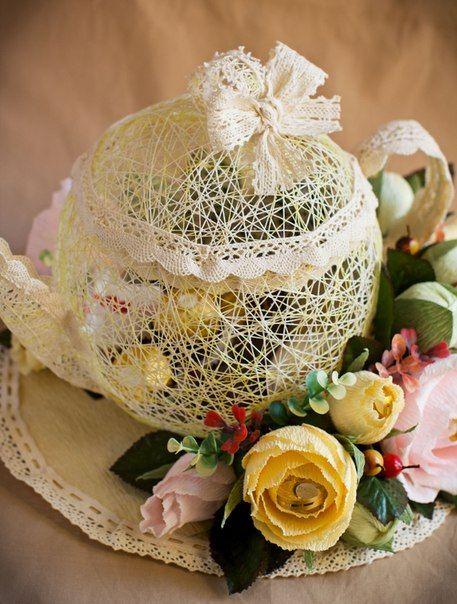 Свадебный букет с конфетами своими руками 12