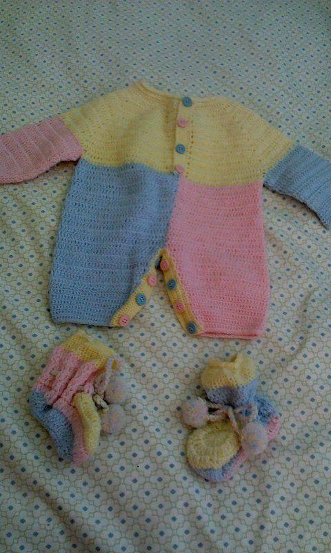 Baby quimono crochet