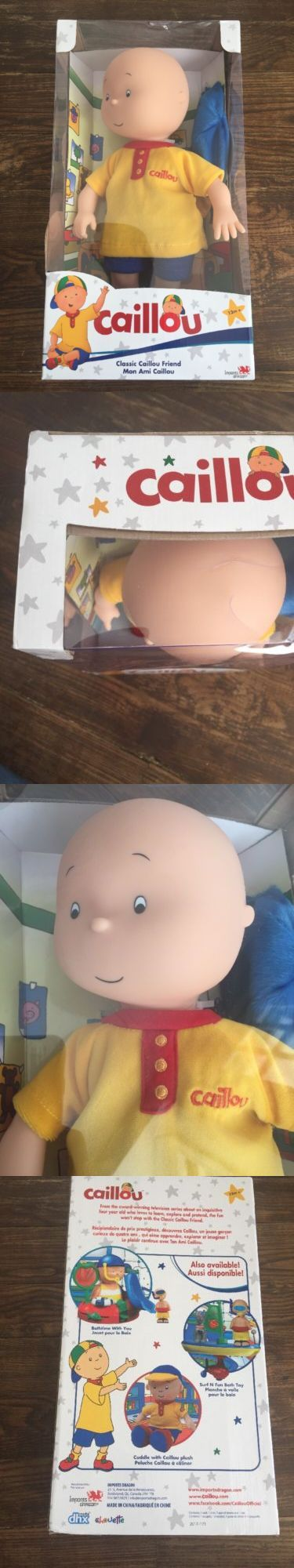 Caillou 20903: Caillou Classic Friend Doll 14 Brand New In Original Box -> BUY IT NOW ONLY: $85 on eBay!