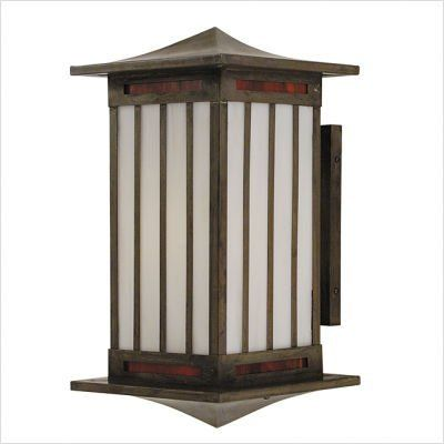 "Arroyo Craftsman HIB Himeji Outdoor Wall Lantern by Arroyo Craftsman. $587.78. Arroyo Craftsman HIB Features: -Himeji collection. -Available in several finishes. -Available in several shade colors. -UL listed. -Suitable in wet location. Specifications: -Accommodates: 1 x 100W medium incandescent bulb. -Available sizes:. -13.5"" Overall dimensions: 13.5"" H x 7"" W x 8.25"" D. -Mounting base: 7"" H x 4"" W. -17"" Overall dimensions: 17"" H x 9"" W x 10.25"" D. -Mounting base..."