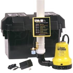 Basement Watchdog BWE - Emergency Backup Sump Pump (1000 GPH @ 10')