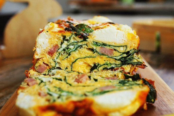 Újdonság: Bomba finom, sütőben sült tojásos reggeli, http://kertinfo.hu/bomba-finom-sutoben-sult-tojasos-reggeli/, ezekben a témakörökben:  #húsvét #reggeli #spenót #tojás, írta: Street Kitchen