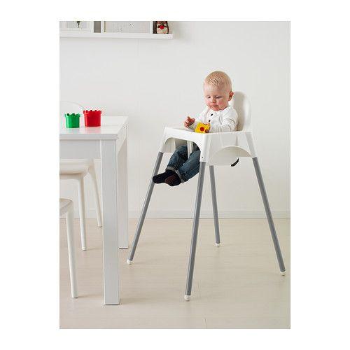 ANTILOP Highchair with safety belt - - - IKEA