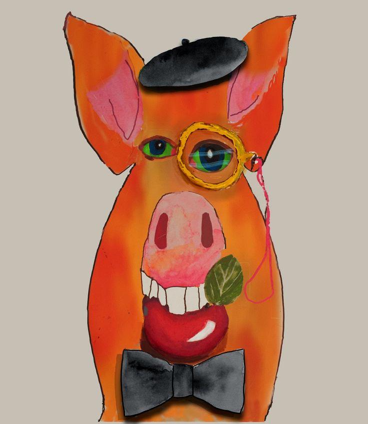Tom's Blog: Dandy Pig. See also tomplummer.com