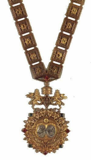 "The Order of Solomon was established initially as a collar by Ras Tafari Makonnen in 1922 — whilst he was still Regent under Empress Zauditu — ""to be awarded to foreign Kings who had the rank according to Emperor"". The Collar was originally envisaged by Emperor Haile Selassie, it is believed, as the highest rank of the Order of Solomon's Seal, created by Emperor Yohannes IV in 1874, which was itself often referred to as ""the Order of Solomon"", but became a separate order which was awarded…"