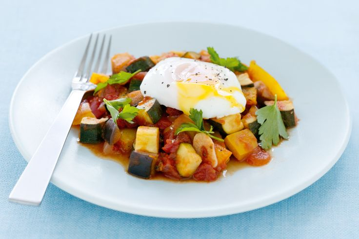 Not only is this healthy French vegetable dish budget friendly, it has even more nutrients thanks to the egg on top.