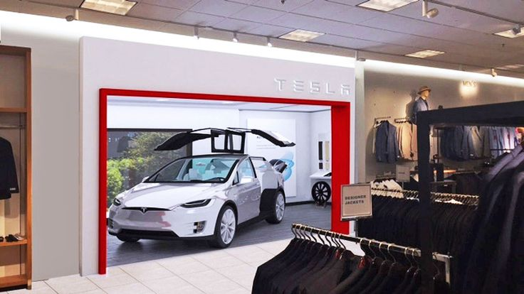 Tesla will soon sell EVs at a Nordstrom store in LA. It will display its Model X SUV inside the tiny, 400 square foot store at The Grove mall starting June 18th, and allow prospects to take test drives with on-site Tesla employees.