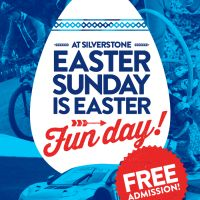 Would you like free admission to Silverstone to celebrate its Easter Sunday (March 27th) Fun Day?