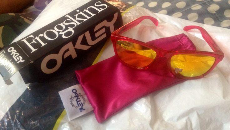 My Frogskins Oakley shades