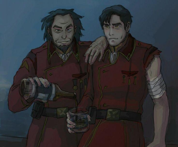 Legend of Korra- Bumi with General Iroh II