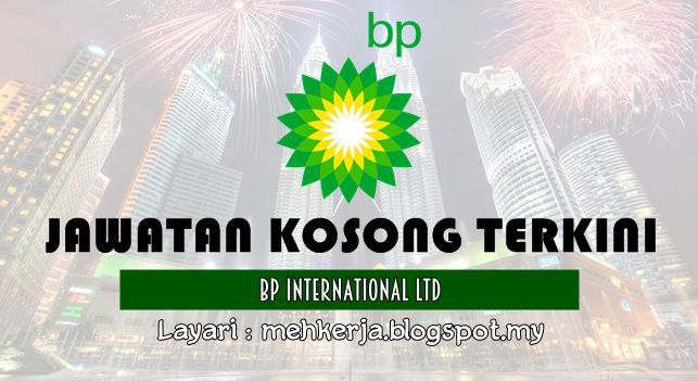Jawatan Kosong di BP International Ltd - 22 Sept 2016   BP is changing the way the world lives. We are one of the worlds largest energy companies with a span of business that includes exploration production refining trading and distribution of energy. After more than 50 years in Malaysia BP has progressed significantly  from a modest beginning as a small petroleum marketing operation the company has established a strong presence with ISO 9002 and ISO 14001 certified lubricant blending plants and has diversified its business activities to become a major player in the petrochemical sector producing Acetic Acid in joint venture plant in Kertih Terengganu.  Jawatan Kosong Terkini 2016diBP International Ltd  Positions:  Corporate Due Diligence ManagerIT Services Assistant Manager Indirect ProcurementPayables COE Assistant Manager (Projects & CI Lead)Data StewardReward ConsultantClosing on :02 - 22September2016  Klik Job Requirement And Job Description  ClickHerehow to Applyvia Jobstreet  Join Telegram Kami :http://ift.tt/28PQhJx  Kerja Kosong TerkiniBP International Ltd  BP at a glance  BP is one of the world's leading integrated oil and gas companies. We provide customers with fuel for transportation energy for heat and light lubricants to keep engines moving and the petrochemicals products used to make everyday items as diverse as paints clothes and packaging  Our company  Through our two main operating segments Upstream and Downstream we find develop and produce essential sources of energy turning them into products that people need. Our projects and operations help to generate employment investment and tax revenues in countries and communities across the world.  via Mehkerja Jawatan Kosong