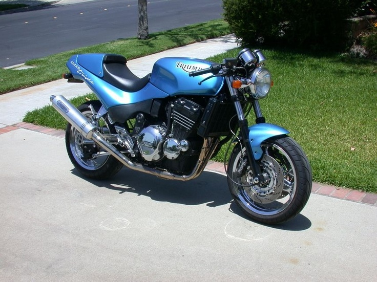 1995 Triumph Speed Triple owned & built by Jeremy Horn