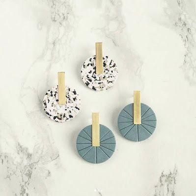 Contemporary Polymer Clay Jewelry Designs by Solar Bird