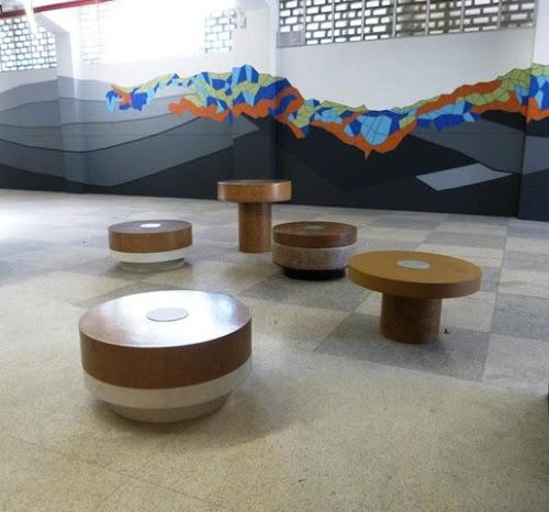 CORK3 - mobiliário urbano em cortiça
