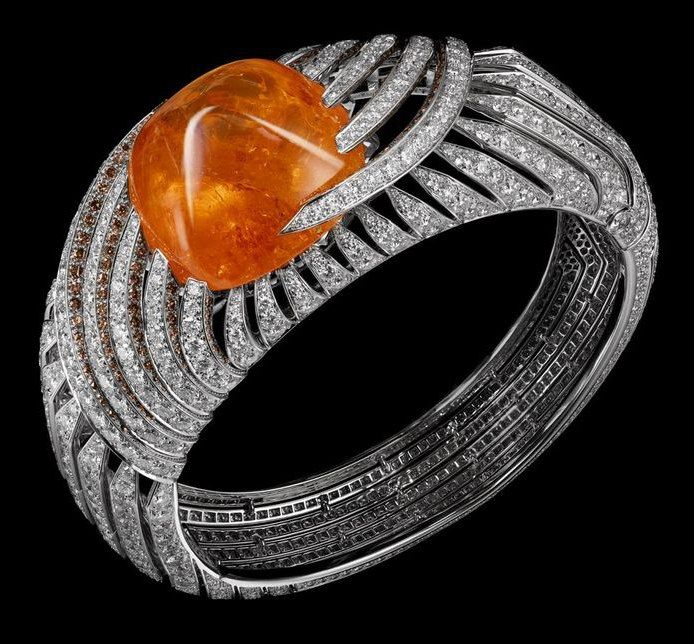 Ночной Картье. CARTIER Из коллекции African Influences Браслет, кольцо и серьги