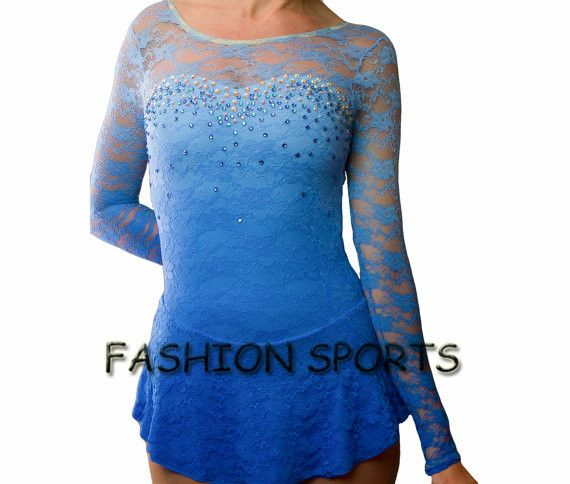 Aliexpress.com : Buy Custom Kids Blue Figure Skating Dress Fashion New Brand Ice Figure Skating Competition Dress HB1254 from Reliable dress designing in pakistan suppliers on Fashion Sports Apparel Store
