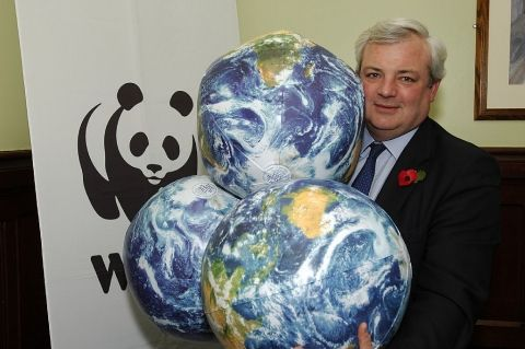 I may be used to juggling my workload but WWF challenged me to juggle three planets to highlight how everyone in the UK is using more than t...