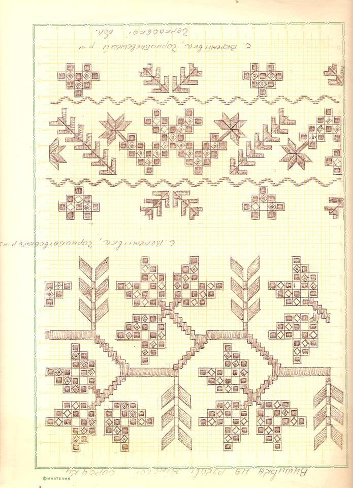 Ukrainian cutwork embroidery from village of Veremiivka, Chornobay raion, now Cherkasy Oblast