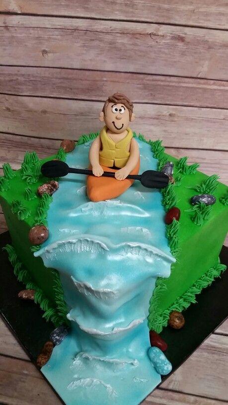 Kayak Grooms cake.