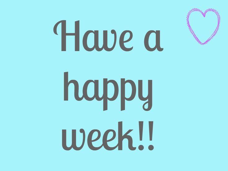 Resultat d'imatges de happy week