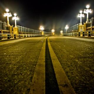 Suicide bridge in Pasadena, CA
