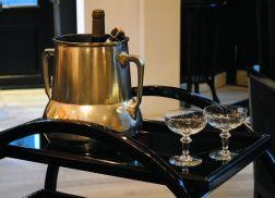 Hungarian Art Deco beverage cooler