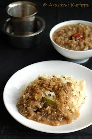 Venn Pongal ( recipe here ) is a rice and lentil based dish served for breakfast in South India. It is quite rich with ghee (clarified bu...