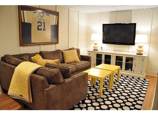 Great basement remodel ideas.