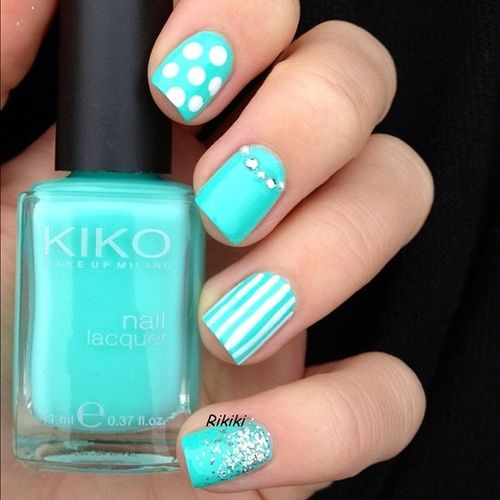 Cute color, nice mixture of textures