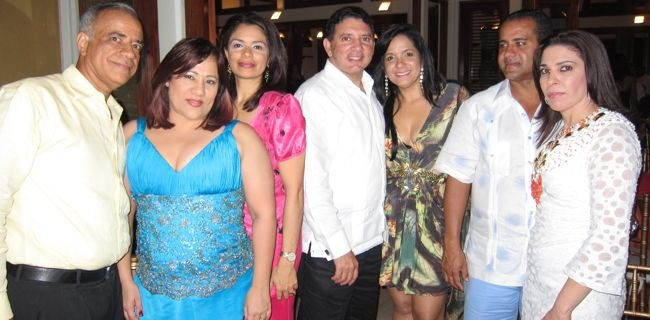 Dueños 2011: Dinner-dance party at the La Romana Country Club, part 4