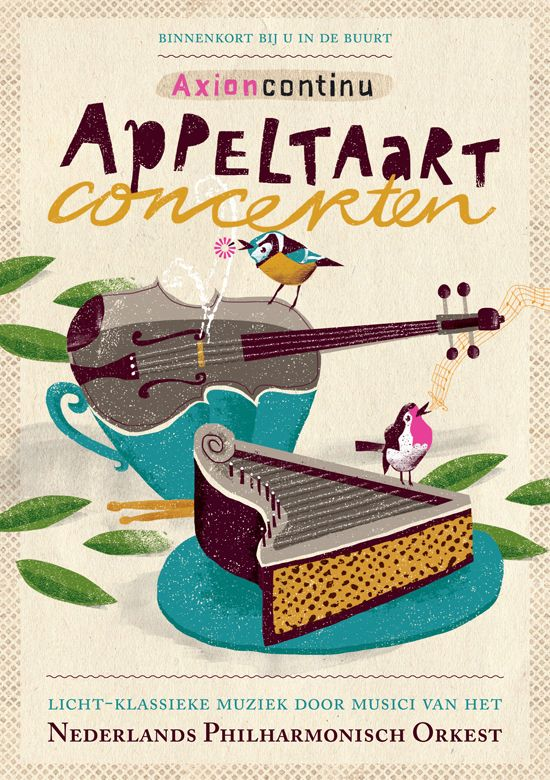 Doneer taart voor de Appeltaartconcerten door Michiel Holtrop – voordekunst
