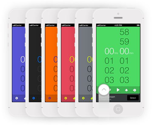 iPhone Timer: Timeless   The multiple countdown timer & stopwatch with style.