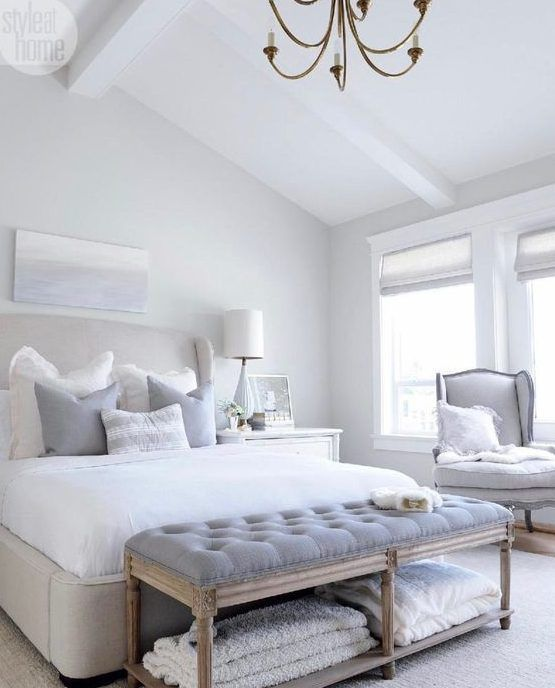 Las 25 mejores ideas sobre bancos de dormitorio en pinterest banquillo de cama dormitorio de - Banquetas dormitorio ...