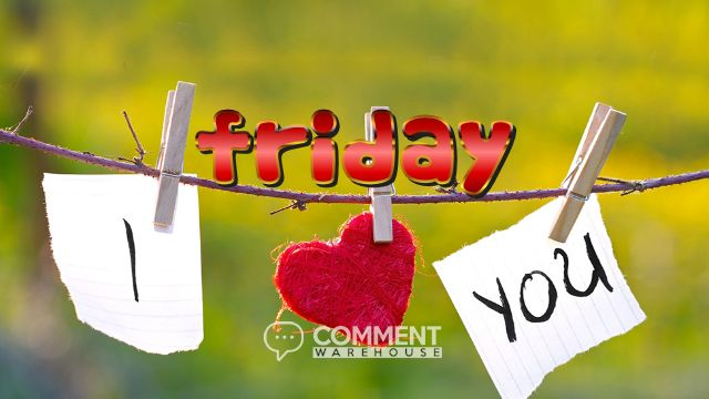 Friday I love you | Friday Graphics | Days of the Week Images | Happy Friday Comments Thank God It's Friday TGIF pics images comments Friday Love comments