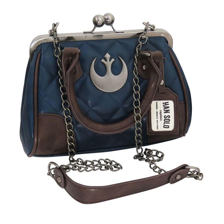 Star Wars Han Solo Hoth Suit Kiss Lock Handbag-Shoulder Strap Attached